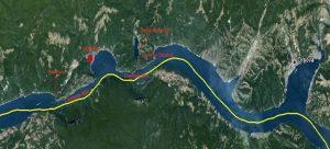 Cazanele Dunarii Locatie