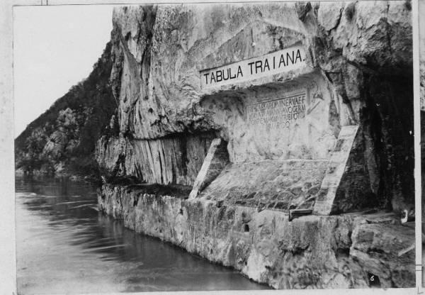 Tabula Traiana in Cazanele Dunarii