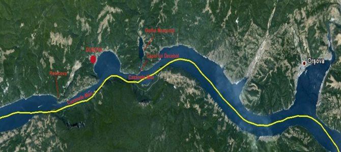 Cazanele Dunarii Locatie – Plimbare cu barca