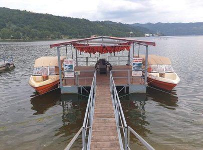Pregatiti sa va primim in Cazanele Dunarii la plimbare cu barca!